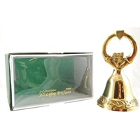 Image for Brass Celtic Cross Bell