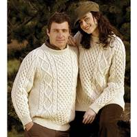 Image for Traditional Irish Wool Sweater