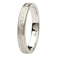 Image for Aishlin 14kt White Gold Wedding Band