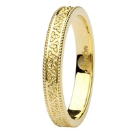 Image for Aishlin 14kt Yellow Gold Wedding Band
