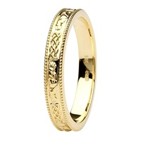 Image for Coleen 14kt Yellow Gold Wedding Band