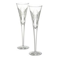 Image for Waterford Anniversary Toasting Flutes, Pair