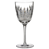 Image for Waterford Lismore Diamond Red Wine Crystal Glass