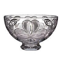 "Image for Waterford Crystal Irish Shamrock 12"" Footed Bowl"