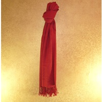 Image for Patrick Francis Red  Wool Scarf