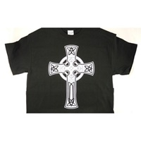 Image for Adult Celtic Cross T-Shirt