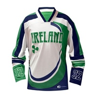 Image for Guinness Green Hooded Hockey Jersey