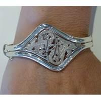 Image for Sterling Silver Celtic Bangle