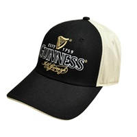 Image for Guinness Tradition Baseball Cap, Black and Tan