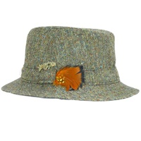 Hanna Green Tweed Walking Hat