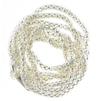 "Image for Sterling Silver 31"" Popcorn Chain"