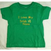 Image for I Love My Irish Nana T-Shirt