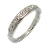 Image for 14ct White Gold Trinity Wedding Ring
