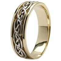 Image for 14Kt Yellow Gold Celtic Design Wedding Ring