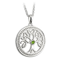 Image for Solvar Sterling Silver Tree of Life Pendant