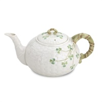 Image for Belleek China Shamrock Teapot