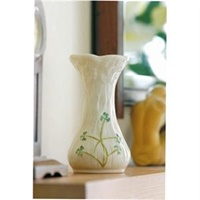 Image for Belleek China Daisy Spill Vase