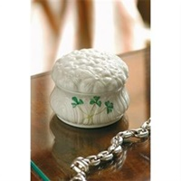 Image for Belleek China Daisy Trinket Box