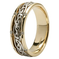 Image for 14Kt Gold Celtic Design Ladies Wedding Ring