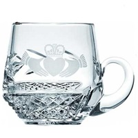 Image for Galway Irish Crystal Claddagh Christening Mug
