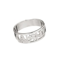 Image for Trinity, Shamrock, Claddagh Band Ring