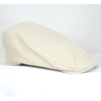 Image for Hanna Driver Style Linen Hat, Linen