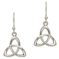 Image for Sterling Silver Trinity Knot Earrings