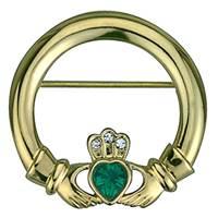Image for Irish Claddagh Brooch