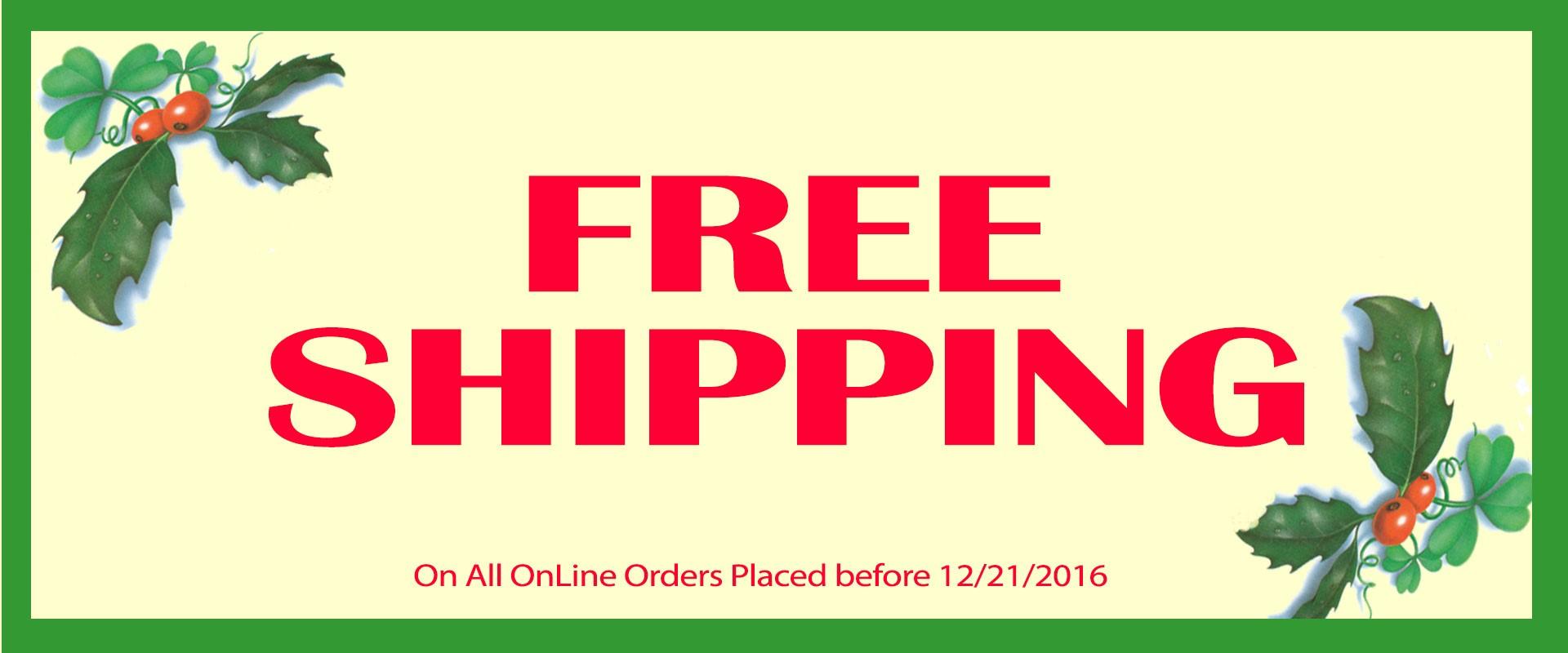 Free Irish Shipping