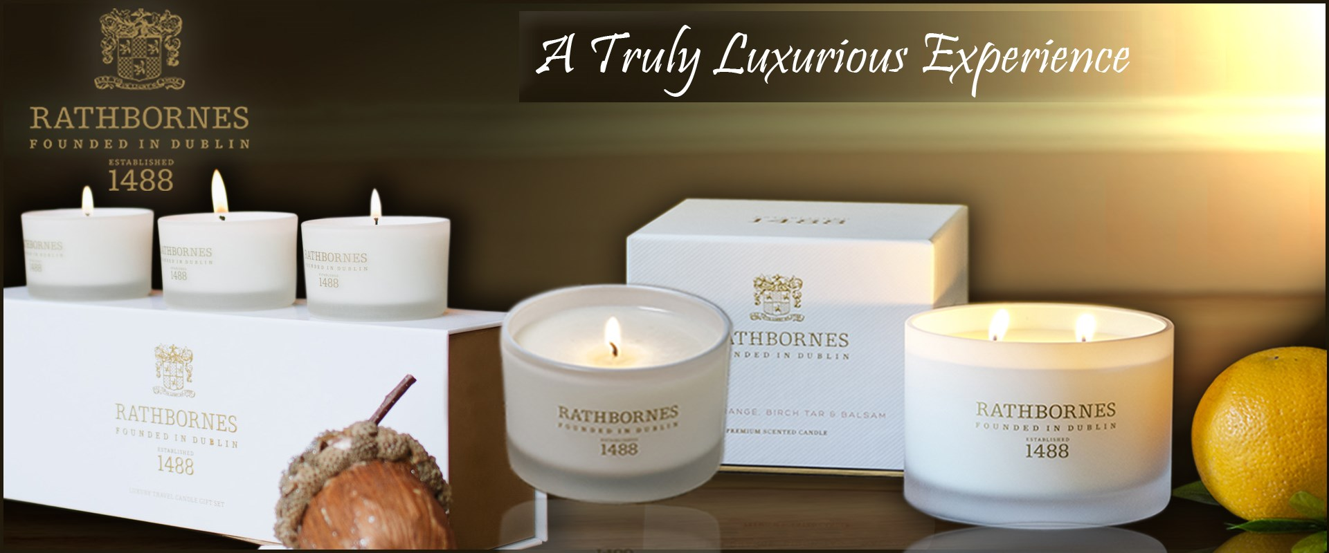 Rathborne Candles Only At Tipperary irish Importer