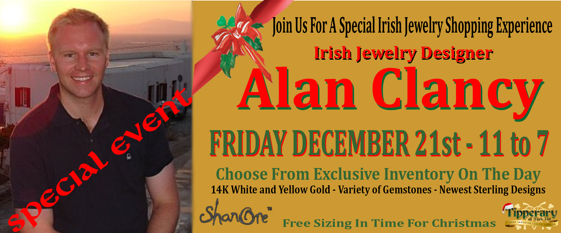 Shanore Jewelry Special Event at Tipperary
