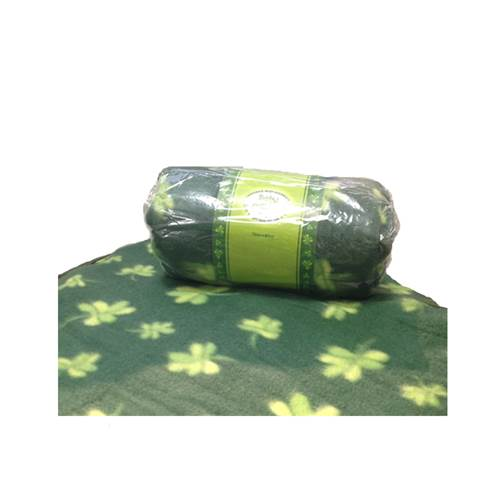 Image for Green Shamrock Irish Baby Blanket