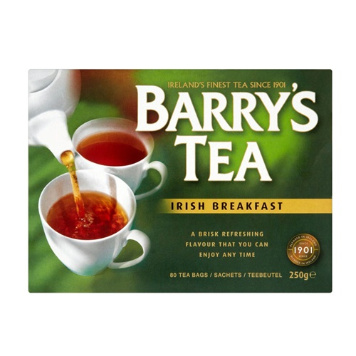 Image for Barry's Irish Breakfast Tea, 80 Teabags