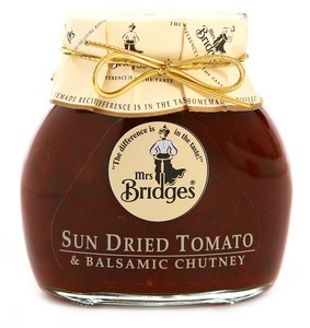 Image for Mrs. Bridges Sun Dried Tomato and Balsamic Chutney