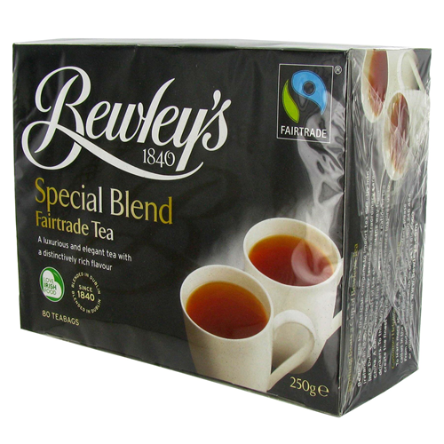 Image for Bewley's Special Blend Fairtrade Tea 80 Box