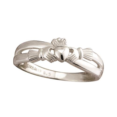 Image for Claddagh Kiss Ring