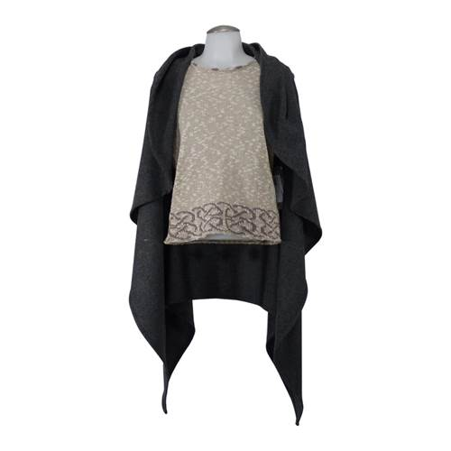 Image for Rose -  An Irish Ladies Cape -Gray