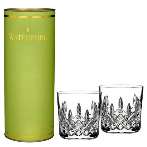 Image for Waterford Giftology Lismore Tumbler Pair in Green Box 9oz