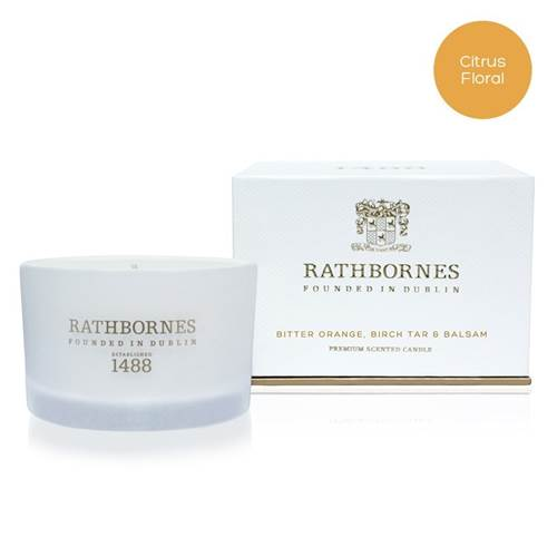 Image for Rathbornes 1488 Bitter Orange, Birch Tar and Balsam Scented Travel Candle