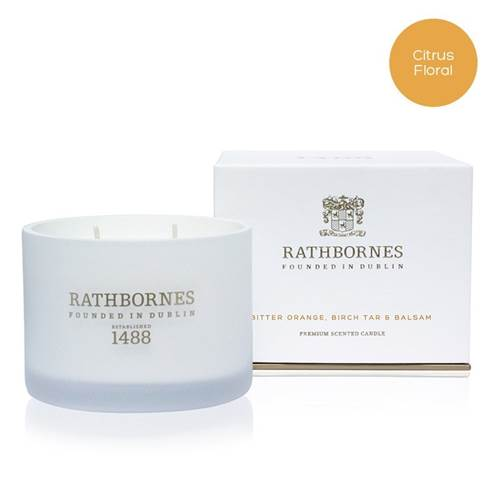 Image for Rathbornes 1488 Bitter Orange, Birch Tar and Balsam Scented Classic Candle